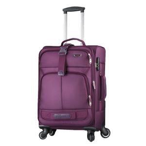 Valise souple 44L bagage à main 4 roues ultra leger Nylon Violet Violet Violet - Achat / Vente valise - bagage 0647726717975 - Les soldes* sur Cdiscount ! Cdiscount
