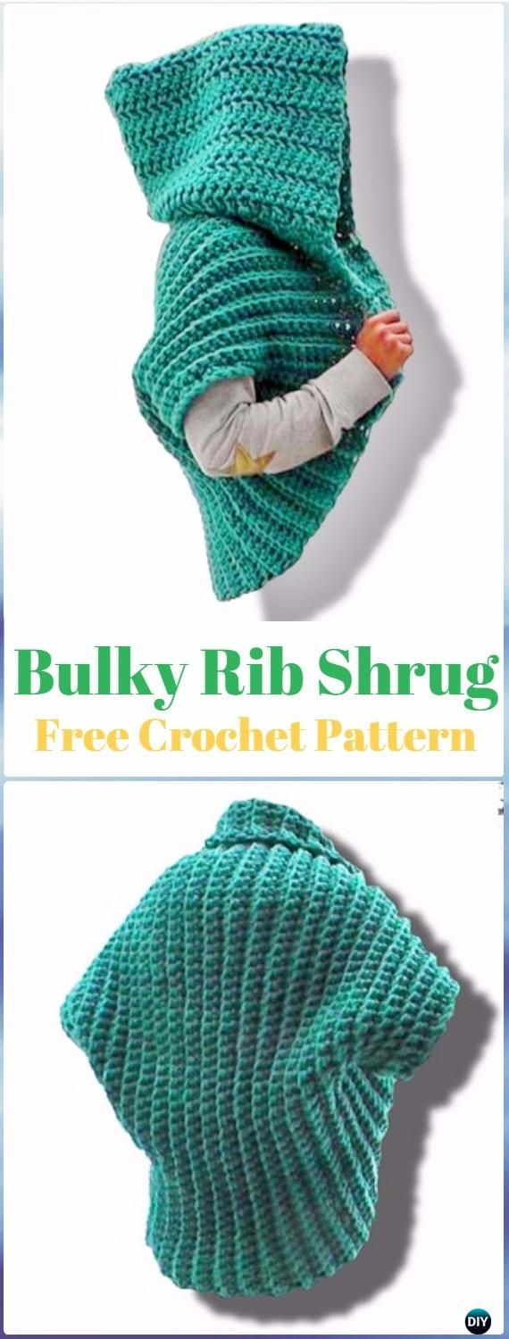 Best 25 crochet shrug pattern ideas on pinterest crochet shrugs crochet ribbed shrug free pattern video crochet women shrug cardigan free pattern bankloansurffo Choice Image