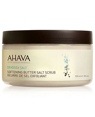 Ahava Softening Butter Salt Scrub, 8oz - Skin Care - Beauty - Macy's  24.00