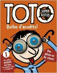 El Toto és el típic trapella de la classe amb el qual tots els nens volen jugar, el llest que fascina els bons estudiants i desespera els professors, i ha preparat un munt d'acudits, bromes i historietes per a nens i nenes.