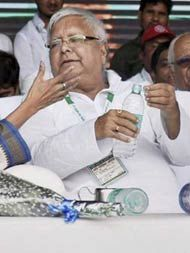 Was Pressured Into Making Nitish Kumar CM, Lalu Yadav Says At Patna Rally