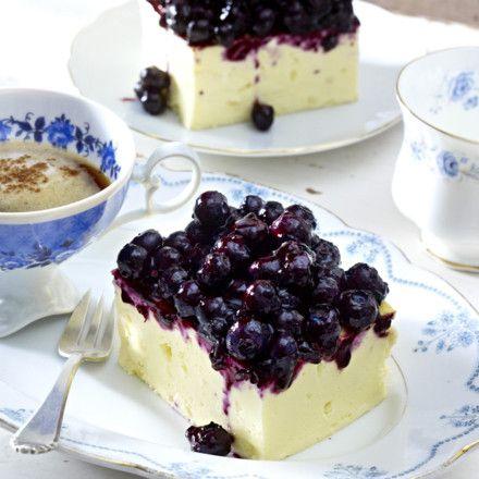 Heidelbeer-Käsekuchen Rezept