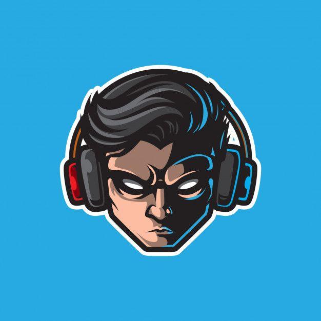 Gamer Mascot Logo Gaming Badge Logo Design Art Game Logo Design Logo Illustration Design