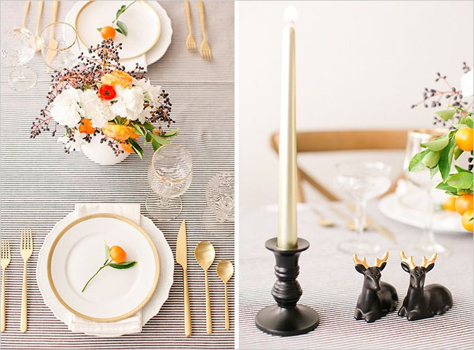254 best menus place settings images on pinterest for Christmas lunch table setting ideas