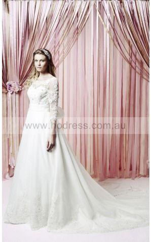 None Natural Jewel Wedding Dresses gzcf1004--Hodress