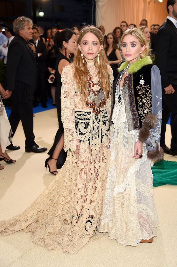 Mary-Kate & Ashley Olsen in The Row, MET Gala 2017