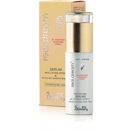 Dzintars Real Dream Anti-wrinkle serum with lifting effects for dry and sensitive face skin
