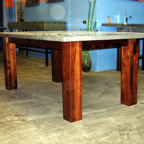 Concrete Dining Room Table CA Pinterest