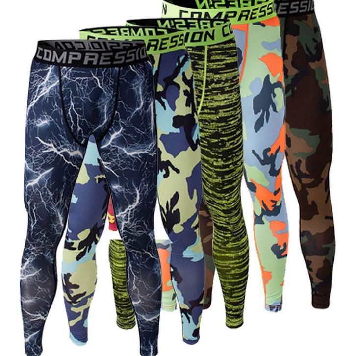 2016 Men Compression Pants Tights Casual Bodybuilding Mans Trousers Brand Camouflage Army Green Skin Leggings Vary S-XXXL #clothing,#shoes,#jewelry,#women,#men,#hats,#watches,#belts,#fashion,#style