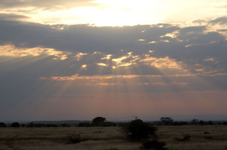 Great Rift Valley Kenya - Sun rays peeking through the late afternoon clouds  #africa #greatriftvalley #kenya #wilderness #shompole #accommodation #hotel #experience #wildlife #travel #traveltherenext