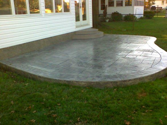 8 Best Stamped Concrete Images On Pinterest Stamped