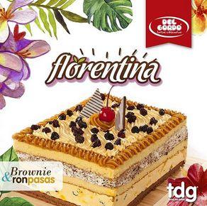 Florentina brownie y ron pasas