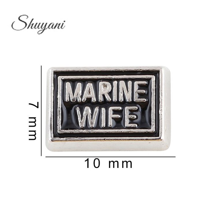 Find More Charms Information about 7*10mm Word Marine Wife Charm DIY Zinc Alloy Charms For Glass Locket Jewelry Making,High Quality charms telephone,China charm bracelet Suppliers, Cheap charm records from shuyani Official Store on Aliexpress.com