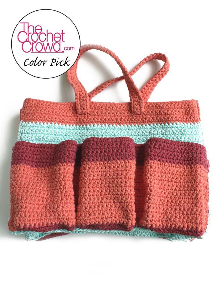 Yarnspirations.com - Lily Garden Bag - Patterns  | Yarnspirations