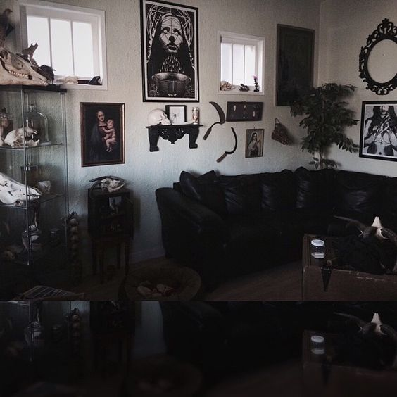 320 best Victorian Goth Living Room images on Pinterest