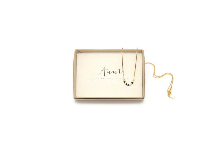 Aunt Morse Code Necklace, Aunt Necklace, Morse Code Jewelry, Aunt Gift, Aunt To Be, Aunt Birthday, Gift For Aunt, Gold Dainty, Aunt Necklace by VerseShop on Etsy https://www.etsy.com/listing/251787564/aunt-morse-code-necklace-aunt-necklace