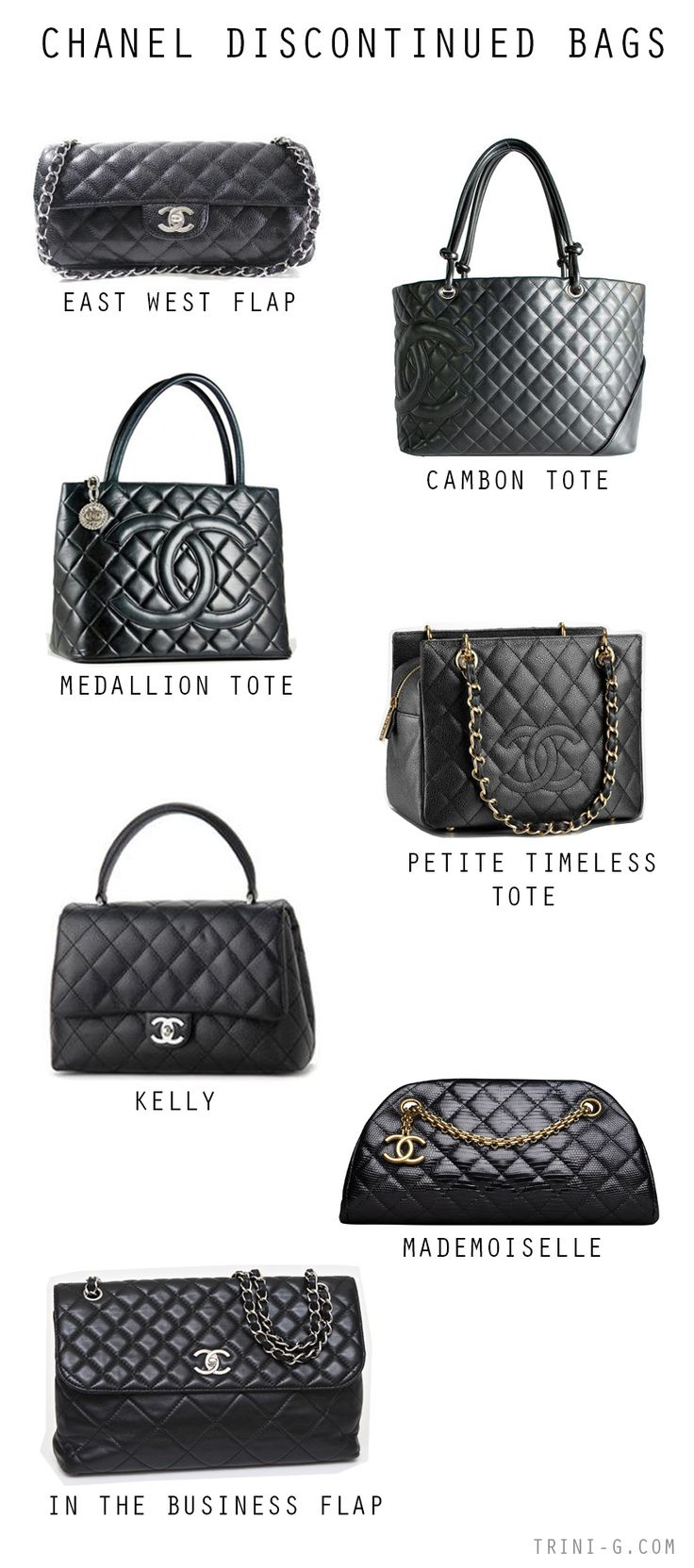 Trini blog | Chanel discontinued bags