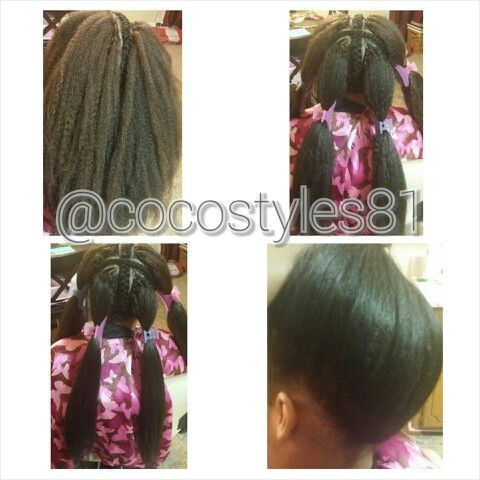 Coco Did It! Vixen Crochet Weave with Marley Braid Hair. More