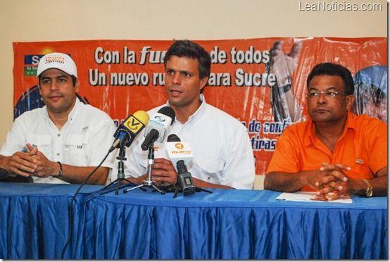 """Leopoldo López: """"La democracia participativa no se impone desde Caracas"""" - http://www.leanoticias.com/2012/11/22/leopoldo-lopez-la-democracia-participativa-no-se-impone-desde-caracas/"""