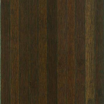 "20"" Engineered Bamboo Hardwood Flooring in Dark Brown"