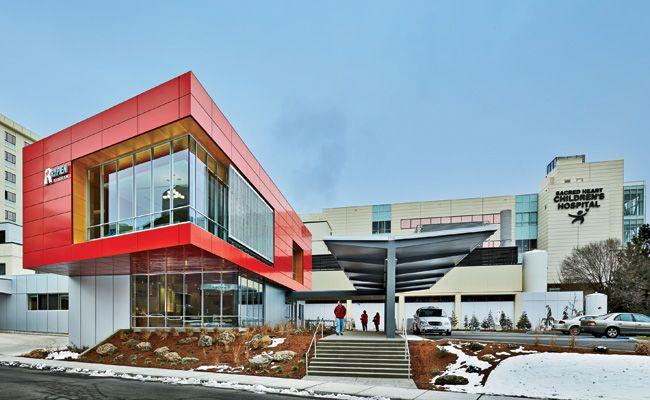 Pediatric Emergency Department Expansion, Providence Sacred Heart Medical Center by Mahlum Architects in Spokane