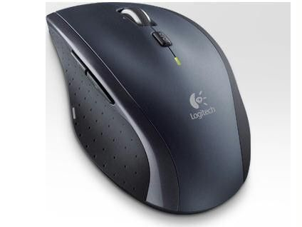 Logitech M705 - Mouse - Laser - Wireless - Usb