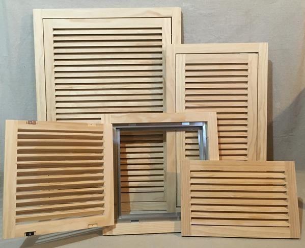Wood Return Air Grille : Wood return air filter grilles and