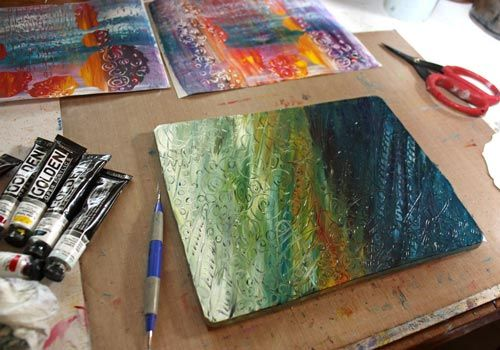 See 6 tips for using Gelli plate as a tool for self-expression!