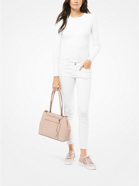 0956cbb301ea Meredith Medium Pebbled Leather Tote $278 | Elevated: Arm Candy ...