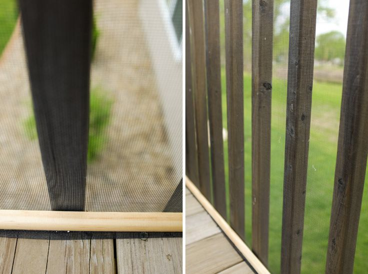 Puppy proofing an apartment balcony without looking like a redneck!