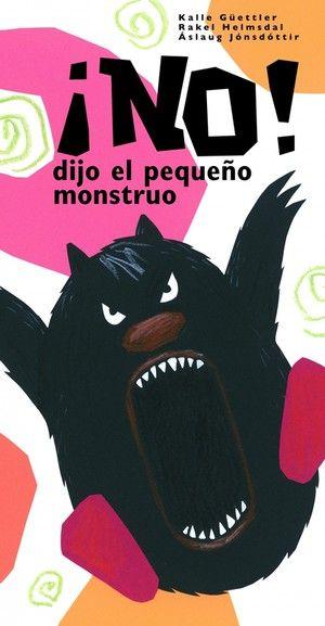 ¡No! dijo el pequeño monstruo Áslaug Jónsdóttir