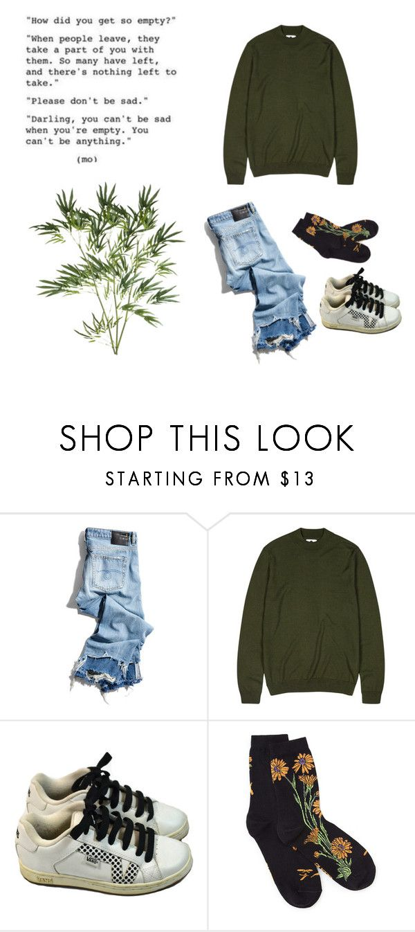 """""""Untitled #64"""" by burnttoasts on Polyvore featuring R13, NN.07, Vans and Pier 1 Imports"""