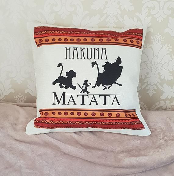 Disney Pillow No worries | Creative