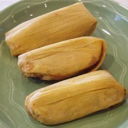 Tamales dulces de mango y nata @ allrecipes.com.mx