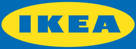 The Ikea logo is bold and simple. The colors and the contrast between the two make it unusual and set it apart from other logos. Speaks to Ikea design philosophy.