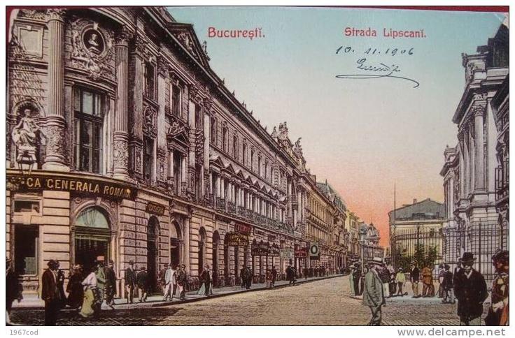 Bucuresti - str Lipscani - 1906 - e pe lista