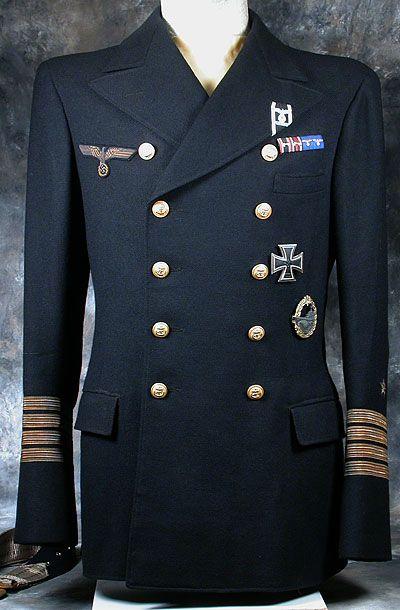Kriegsmarine Officers Tunic