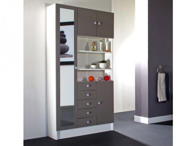 1000 id es propos de salle de bains taupe sur pinterest couleurs des mur - Armoire couleur taupe ...