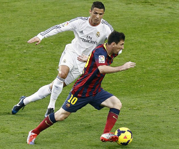 Messi vs Ronaldo | for the ages....