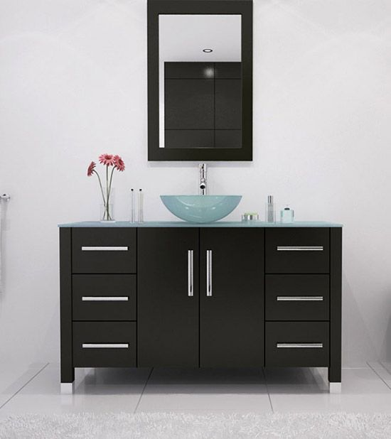 Image Gallery For Website If you like sleek modern designs in your bathroom then you will love this large bathroom vanity Constructed in beautiful and sturdy oak the vanity will