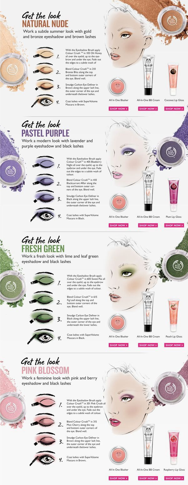 Get The Look with The Body Shop