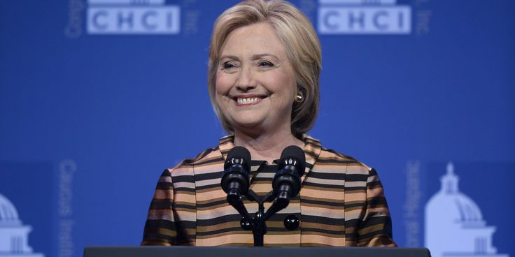 """You are the changemakers, the path breakers, and the ground shakers,"" Clinton said at the Black Women's Agenda."