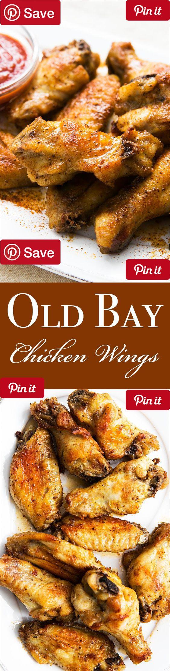 DIY Old Bay Chicken Wings- Ingredients Gluten free Meat 3 lbs Chicken wings Condiments 1 Cocktail sauce 1 tbsp Lemon juice Baking & Spices 1 tbsp Old bay seasoning Dairy 8 tbsp Butter, unsalted