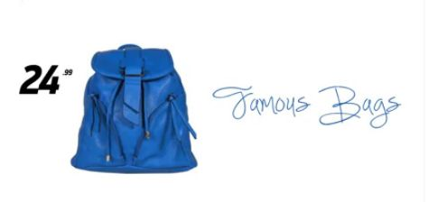 Blue Backpack | Τιμή: 24.99