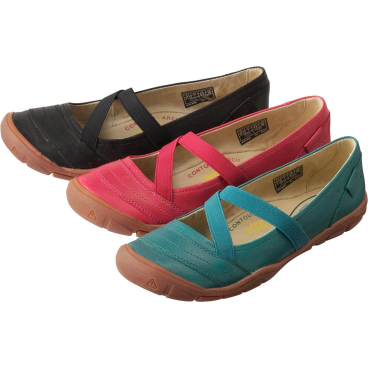 Women's Keen® Rivington II Shoes are modern-day Mary Janes that boast comfort and capability.