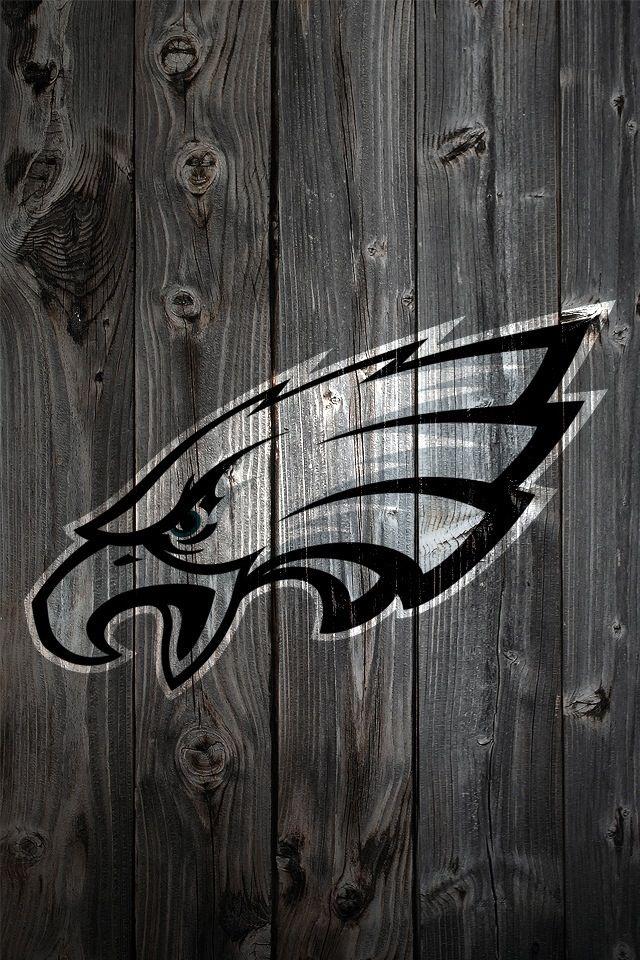Eagles Logo Wooden Look