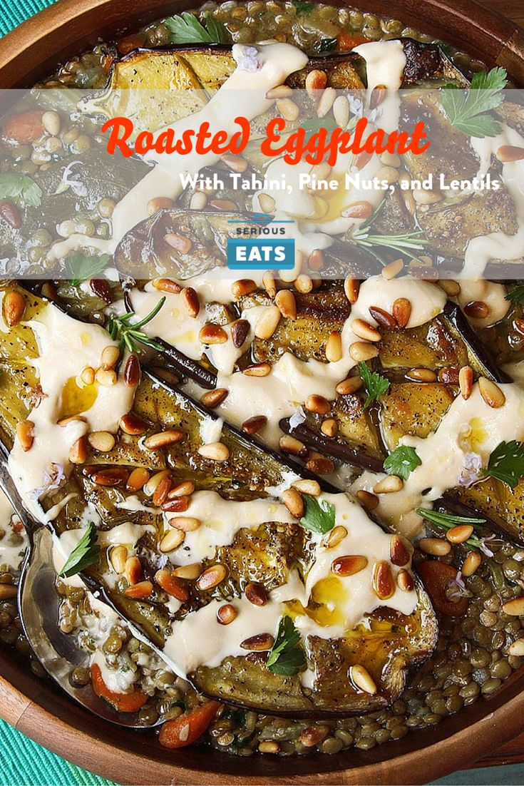1381 best vegetarian meals images on pinterest vegetarian recipes roasted eggplant with tahini pine nuts and lentils veggie mealsvegetable dishesvegetarian mealsveggie recipescooking forumfinder Image collections