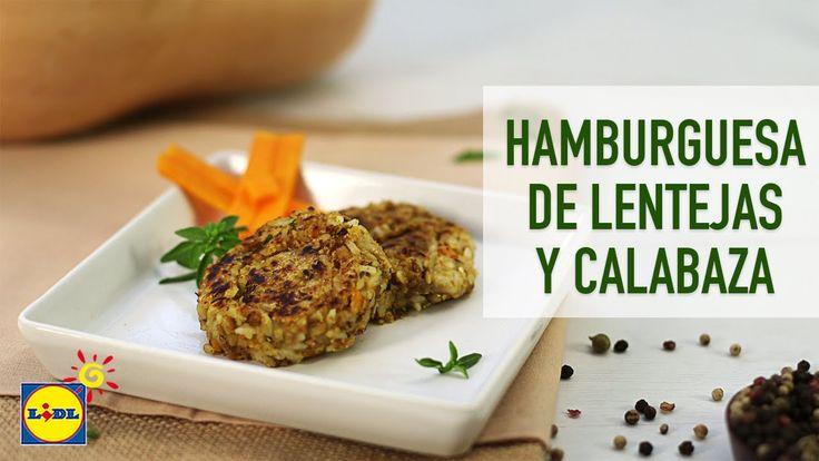 Hamburguesa De Lentejas Y Calabaza - Recetas Vegetarianas