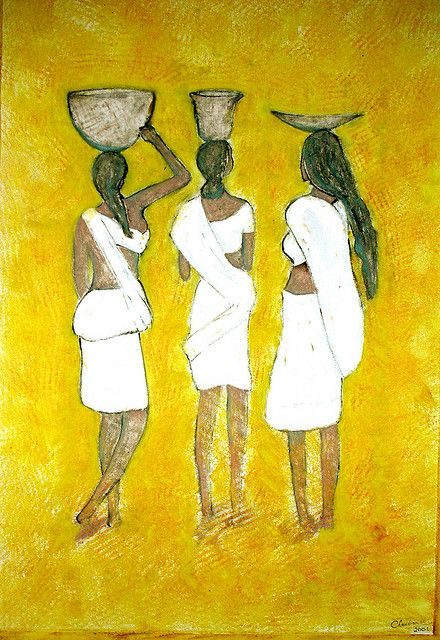 Paintings of Indian artist Narayanan Ramachandran If you have to have these cool pictures as your Google Background you can for Free at http://chrome-theme.org