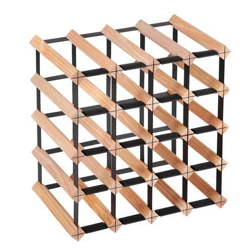 i.Life Timber Wine Rack 20 Bottles